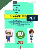 Informe IV Ciclo Mes de Junio 2021 -