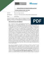 INFORME CASAVILCA - PAD