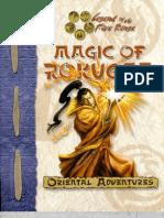 Magic of Rokugan