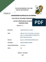 Informe de Practica de Thelmo Cachique Panduro Unsm Administracion de La Calidad