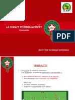 -LA SEANCE D ENTRAINEMENT
