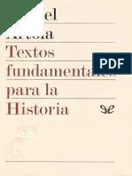 AA. VV. - Textos Fundamentales Para La Historia