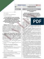 Ley Que Amplia El Plazo de Revision de Los Nombramientos Ra Ley n 31266 1971585 1 Unlocked