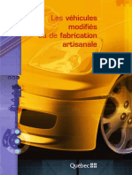 Vehicules Modifies Fabrication Artisanale