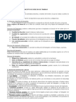 derecho laboral - Resumen