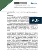 RESOLUCION DE DIRECCION NULIDAD DE PAD Y COMISION AD HOC