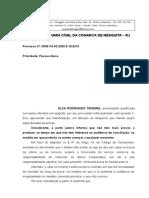 Atendimento de Dona Elza Teixeira Acerca Das Provas e Audiência - Assinado