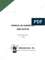 Manual de Garantia Sinduscon Para