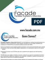 Presentacion FACADE Completa