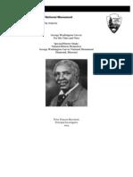 Special History Study  George  Washington Carver