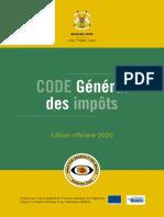 Code général des Impots à jour loi de finances 2021