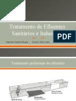 Tecnologias para Tratamento Secundário de Efluentes (1)