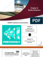 BUS407 Chapter 08 Media Relations