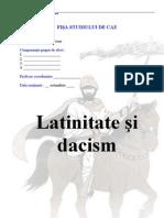 studiu de caz- latinitate si dacism