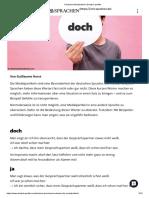 Deutsche Modalpartikel _ Deutsch Perfekt