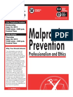 MoBarCLE Malpractice Prevention, Professionalism and Ethics