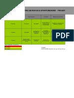 Matriz de Riscos e Oportunidades - AÇOS PINHAIS - Projeto ISO 9001 2015