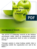 StrategyAnalysisAndChoice