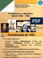Governo Liberal e populista