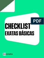 Checklist Exatas Básicas (1)