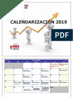 Calendarización Año Escolar 2019 - Inicial y Primaria (Dgip)