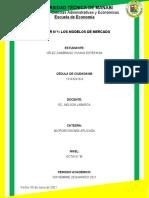 TALLER N°2 Modelos de mercado. Viviana Vélez