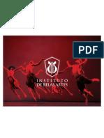 manual da marca do Instituto de Belas Artes