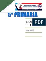 GRAMÁTICA  I BIM 5° PRIM