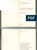 La independencia americana . consecuencias económicas - Leandro Padros de la Escosura y Samuel Amaral - PortalGuarani.com