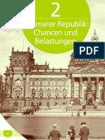 Kapitel 2 Zur Weimarer Republik