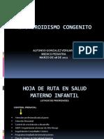 1. HIPOTIROIDISMO CONGENITO