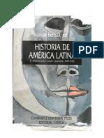 Historia de America Latina 08 - Cultura y Sociedad 1830-1930