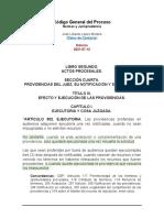 Codigo General Del Proceso Art302 Ejecutoria 21712