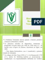 História da Medicina Veterinária