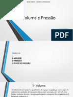 Volume e Pressão-APRESENTAÇÃO turma senai