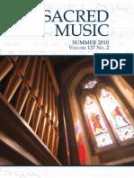 Summer 2010 Sacred Music