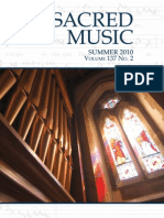 Summer 2010 Sacred Music