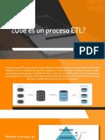 Que es un proceso ETL