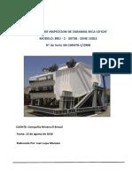 Informe N° 4 de parada de planta Zaranda 1 13.08.16