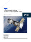NASA Astronauts on Soyuz