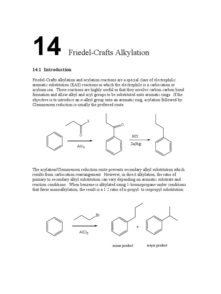 Friedel-Crafts Alkylation | Distillation | Vacuum