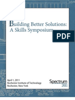 Spectrum 2011 Program