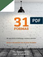 31 Formas de Servicio Cristiano