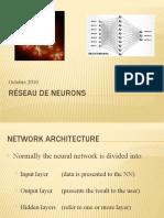 Réseau de neurons