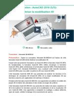Alphorm Fiche Formation AutoCAD 2016 3D