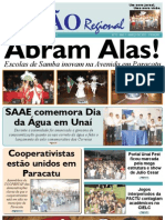 JORNAL VISÃO REGIONAL - EDIÇÃO 77 - MARÇO DE 2011 - 2ª EDIÇÃO - UNAÍ - PARACATU-MG