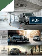 Fiat Talento Prospekt 2017 DE