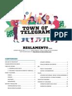 TOWN OF TELEGRAM - REGLAMENTO v.2.2.0