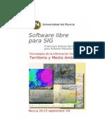 Software Libre Para GIS