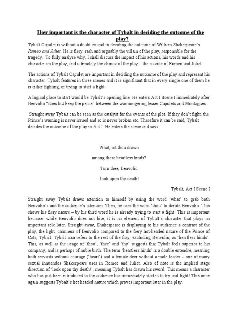 tybalt character description